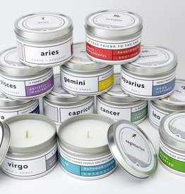 PISCES Zodiac Soy Candle