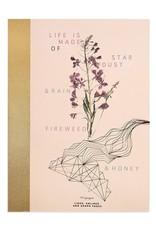 Papaya Clothbound Notebook - Fireweed & Honey