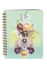 Papaya Spiral Notebook - Universe
