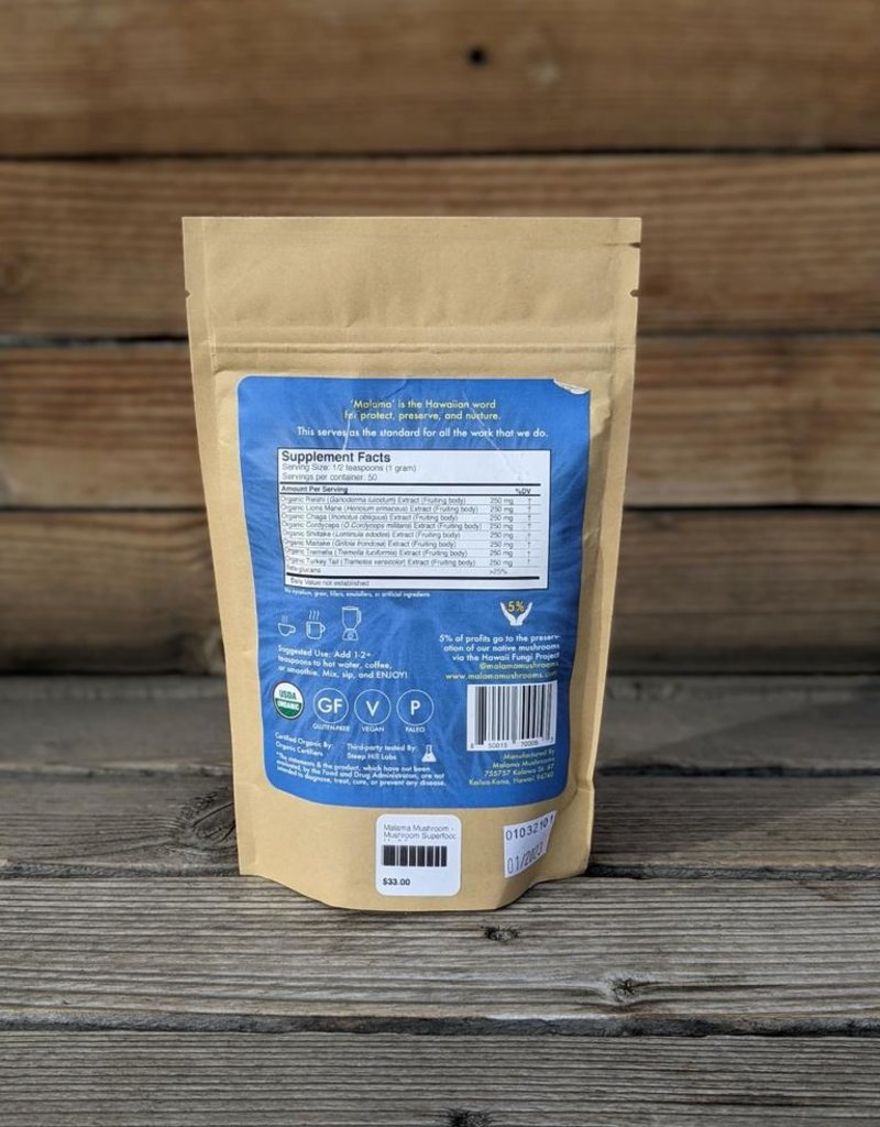 8 Mushroom Superfood Mix - 3.5 oz