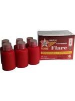 TRU FLARE Tru Flare 20RED Flares 6-Pack Red
