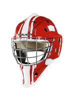 BAUER NME3 DECAL GOAL MASK YTH RED/WHT