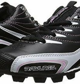 RAWLINGS RAWLINGS BASE INVADER LOW BLK/PINK LADIES