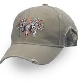 Browning BROWNING CAP, RUGGED BUCKS KHAKI/MOINF