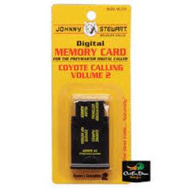 HUNTER'S SPECIALTIES INC. HS JONNEY STEWART MEM CARD COYOTE VOL 4