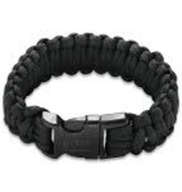COLUMBIA RIVER KNIFE CRKT Onion Para-Saw Bracelet - Black Paracord bracelet with carbide wire saw inside