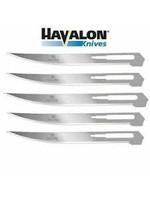 HAVALON HAVALON Box of 5 Baracuta Filet Blades #127XT stainless steel