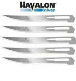 HAVALON HAVALON Box of 5 Baracuta Filet Blades #127XT stainless steel