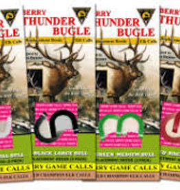 BERRY GAME CALLS Berry replace reed WHT Thunder Bugle Thin
