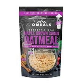 OMEALS OMEALS MAPLE BROWN SUGAR OATMEAL 8OZ