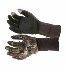 HUNTER'S SPECIALTIES INC. HS Nylon Net Gloves w/Grip APG LONG CUFF