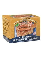 Hi Mountain Hi Mountain 452 Garlic Pepper BRATWURST SAUSAGE