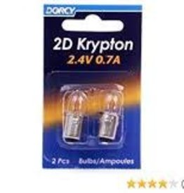DORCY DORCY 2D KRYPTON BULB 2/CD 41-1660
