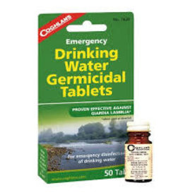COGHLAN'S COGHLAN'S DRINKING WATER TABLETS 50 COUNT 7620