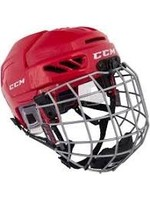 CCM Hockey CCM HELMET FL 3D JR COMBO RED