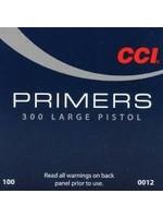 CCI CCI LARGE PISTOL PRIMERS #300 (BRICK)