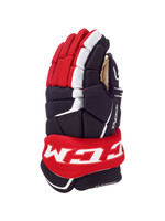 "CCM Hockey CCM GLOVE 12"" 9060 TACK JR RED/BLK"