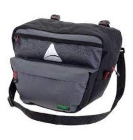AXIOM AXIOM HANDLE BAR BAG SEYMOUR O-WEAVE P4 GY/BK