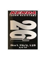49N KENDA THORN-RESISTANT BIKE TUBE 26X1.75