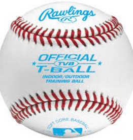 RAWLINGS RAWLINGS BASEBALL OFFICIAL T-BALL INDOOR/OUTDOOR