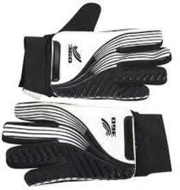 360 ATHLETICS 360 SOCCER GOALIE GLOVE BLK/WHT SIZE 6