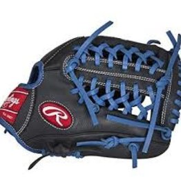 RAWLINGS RAWLING RCS BLK/BLUE BALL GLOVE 11 3/4 INCH