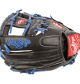 RAWLINGS RAWLINGS SELECT PRO LITE BLK/BLUE BALL GLOVE 11 1/4 INCH