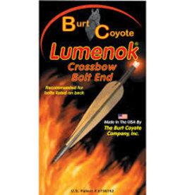 "BURT COYOTE CO INC BURT COYOTE Lumenok Flat Carbon Bolt Easton/Beman .297"""