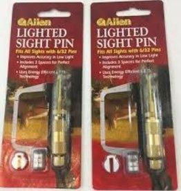 ALLEN ALLEN PIN SIGHT LIGHTED 6/32 PINS