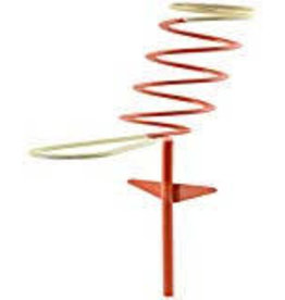 HUNTER'S SPECIALTIES INC. HT PWR-1 Pail Wire Rod Holder Red Coated