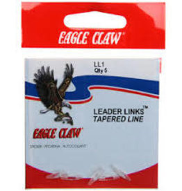 Eagle Claw EAGLE LEADER LINKS TAPERED LINE LLF 5PK