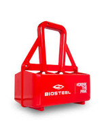 BIOSTEEL BioSteel Team Water Bottle Carrier (Holds 6 Bottles)