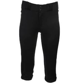 RAWLINGS RAWLINGS SOFTBALL PANTS WOMENS BLACK SM