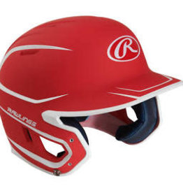 RAWLINGS RAWLINGS HELMET 6 3/8-7 1/8 RED/WHITE