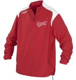 RAWLINGS RAWLINGS FORCE JACKET RED SR L