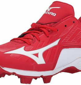 MIZUNO MIZUNO 9-SPIKE ADVANCED FRANCHISE 9 RED/WHITE SIZE 6.5