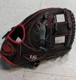 LOUISVILLE SLUGGER LOUISVILLE SLUGGER 125 SERIES GLOVE LSWTL12RB191 BLACK/RED