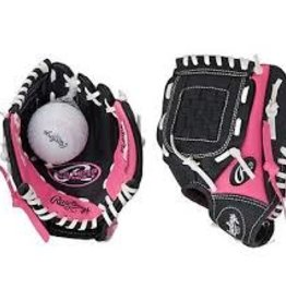 RAWLINGS RAWLING PINK PLAYMAKER SERIES BALL RH GLOVE 9 INCH