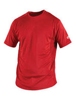 RAWLINGS RAWLINGS TEAM WARM UP SHIRTS RED YTH LG