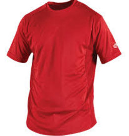 RAWLINGS RAWLINGS TEAM WARM UP SHIRTS RED YTH MED