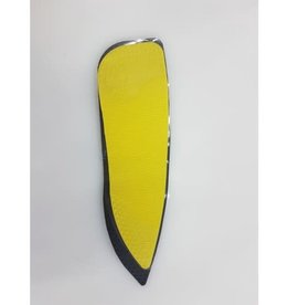 SIDELINES TACKI MAC ATTACK PAD ADULT YELLOW