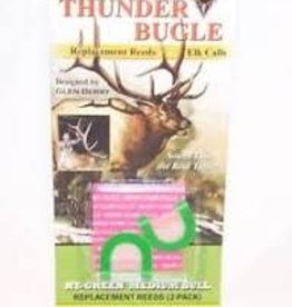 BERRY GAME CALLS Berry RT-G Elk Big Bull Call REPLACEMENT REEDS GREEN
