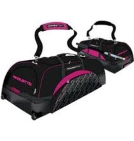 POWERTEK HOCKEY POWERTEK V3.0 TEK EQUIPMENT BAG 33 PINK WHEELS