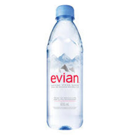 COKE COLA EVIAN WATER
