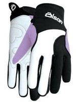 OLSON CURLING OLSONS GLOVES LADIES S-XL BLUE, BLACK. PURPLE
