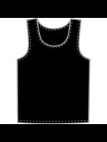 KOBE SPORTSWEAR KOBE PRACTICE VEST PINNIES -  NAVY OR BLACK YTH XL