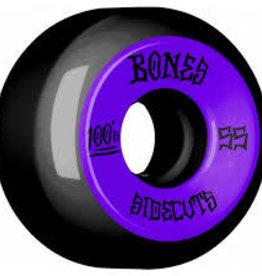 BONES BONES WHEELS 55MM BLACK 4PK