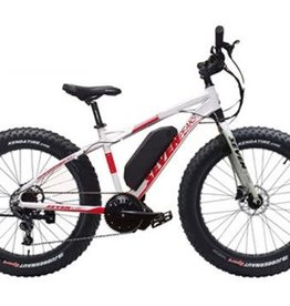 "SEVEN PEAKS SEVEN PEAKS E-BIKE BLIZARD 19"" WHITE/RED SER#"