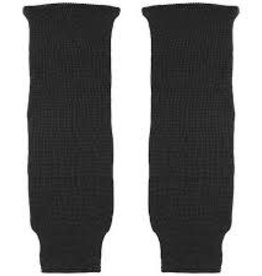 "POWERTEK HOCKEY HOCKEY SOCKS BLACK SOLID 21"" YOUTH"