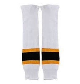 CCM Hockey CCM SOCKS 100 -BOS SUNFL- JR PKG -0- WHITE - HOME  24""